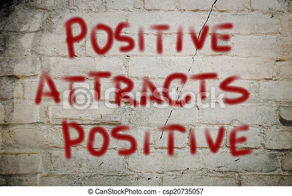 θετικός , γενική ιδέα  - csp20735057