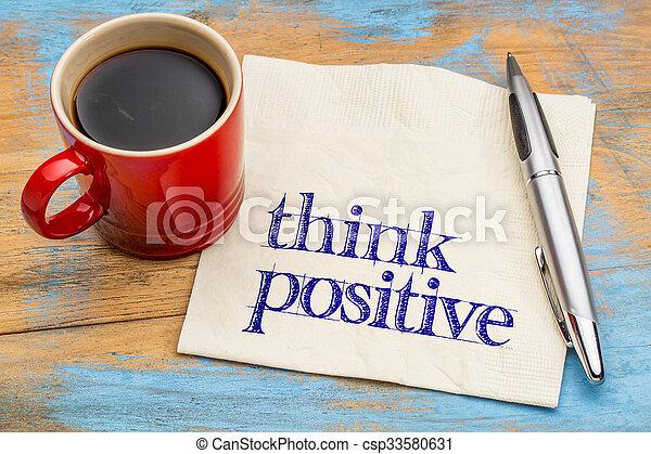θετικός , γενική ιδέα , - , κρίνω , χαρτοπετσέτα  - csp33580631