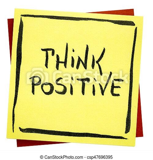 θετικός , υπενθύμιση , κρίνω , εμπνευστικός  - csp47696395