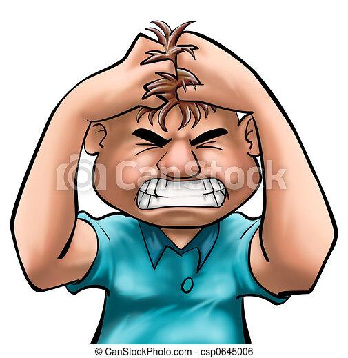 θυμωμένος  - csp0645006