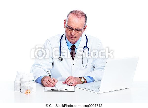 ιατρικός , ακάνθουροσ.  - csp9927842