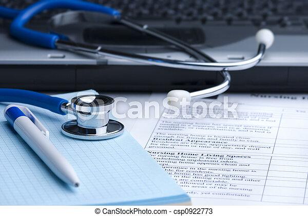 ιατρικός αντίληψη  - csp0922773