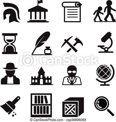 ιστορία , απεικόνιση , & , αρχαιολογία  - csp36896089