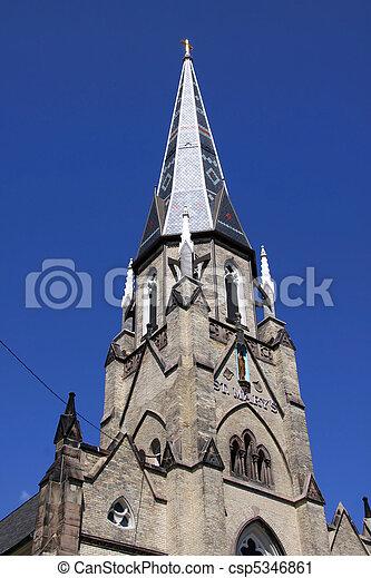 ιστορικός , εκκλησία  - csp5346861