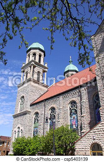 ιστορικός , εκκλησία  - csp5403139