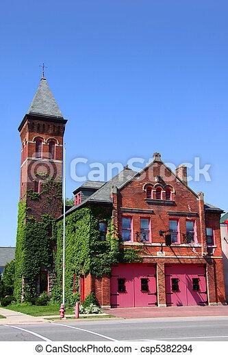 ιστορικός , εκκλησία  - csp5382294