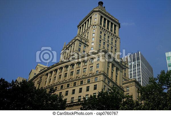 ιστορικός , ουρανοξύστης  - csp0760767