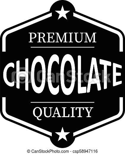 ιστός , ασφάλιστρο , γραμματόσημο , κρασί , σοκολάτα , λάστιχο , μαύρο φόντο , άσπρο , ποιότητα , εικόνα  - csp58947116