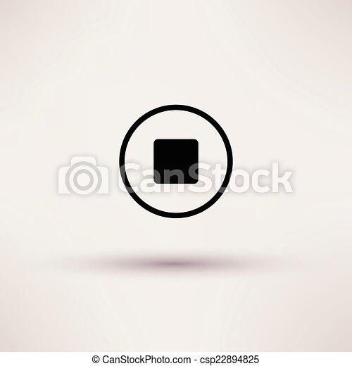 ιστός , illustration., σταματώ , απομονωμένος , μικροβιοφορέας , εικόνα  - csp22894825