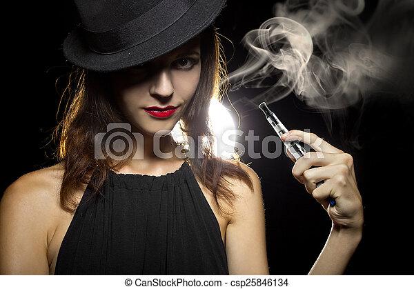 κάπνισμα , εναλλακτικός  - csp25846134