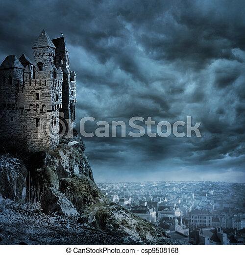 κάστρο  - csp9508168