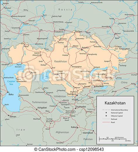 καζακστάν  - csp12098543
