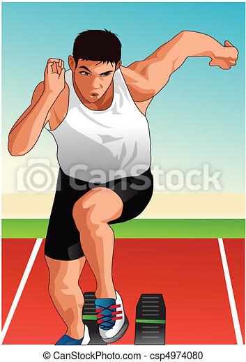 καθέκαστα , αθλητισμός  - csp4974080