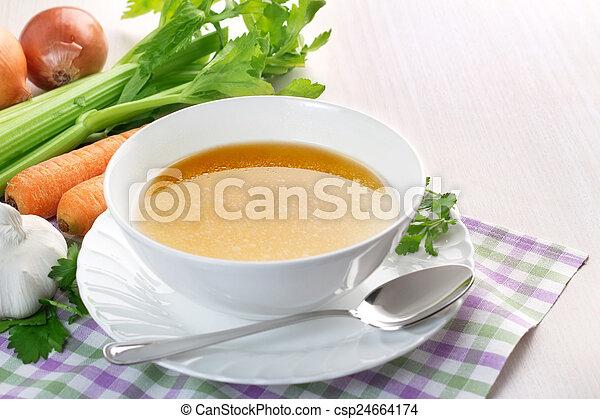 καθαρά , ζωμόs κρέατοs  - csp24664174