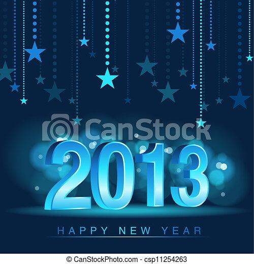 καινούργιος , ευτυχισμένος , έτος  - csp11254263