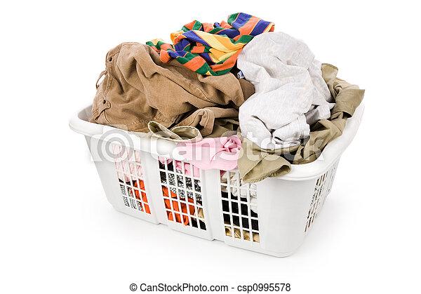 καλαθοσφαίριση , μπουγάδα , ρουχισμόs , βρώμικος  - csp0995578