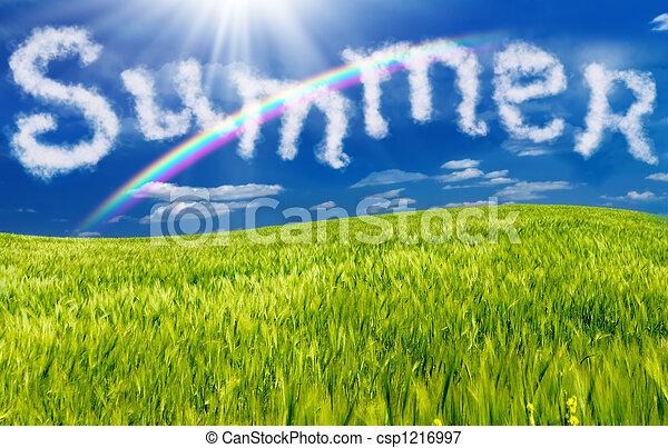 καλοκαίρι  - csp1216997