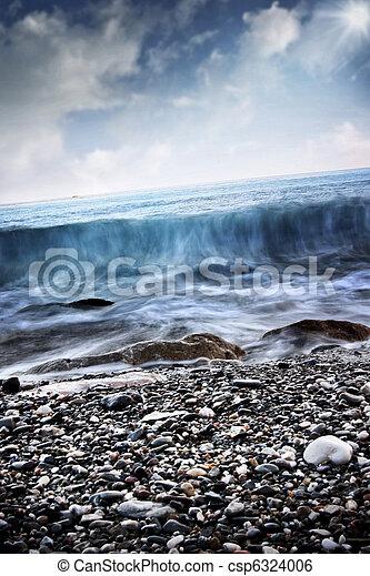 καλοκαίρι , θάλασσα , τοπίο  - csp6324006
