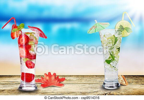 καλοκαίρι , πίνω  - csp9514316