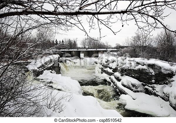 καναδάs , χειμώναs , πίσω , αλίσκομαι , ottawa , hog's - csp8510542