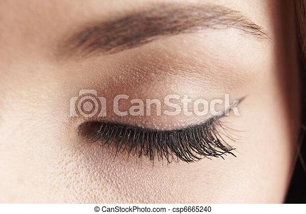 καπάκι , μάτι  - csp6665240
