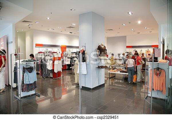 κατάστημα ρούχων  - csp2329451