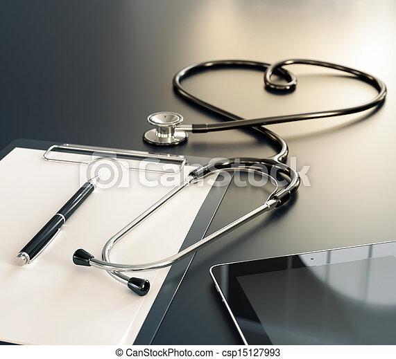 καταγράφω , ιατρικός  - csp15127993