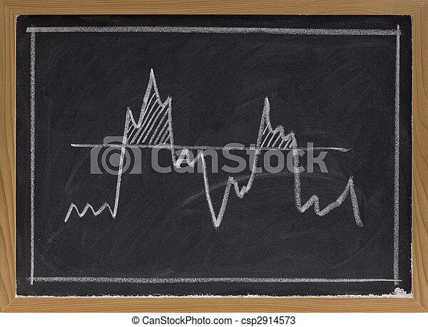κατώφλι , μαυροπίνακας , γενική ιδέα  - csp2914573