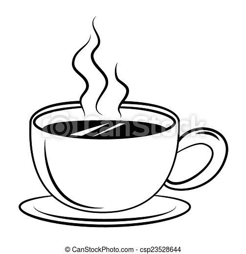 καφέs , σύμβολο  - csp23528644