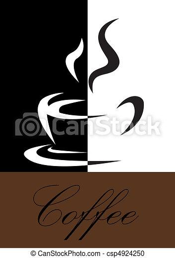 καφέs , σύμβολο  - csp4924250