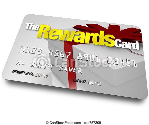 κερδίζω , αμείβω , refunds, rebates, πιστωτική κάρτα  - csp7573091