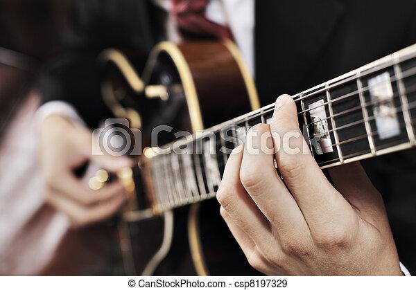 κιθαρίστας  - csp8197329