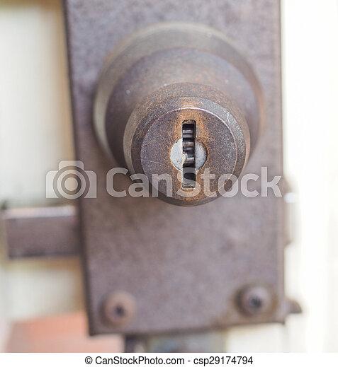κλειδαριά , ασφάλεια  - csp29174794