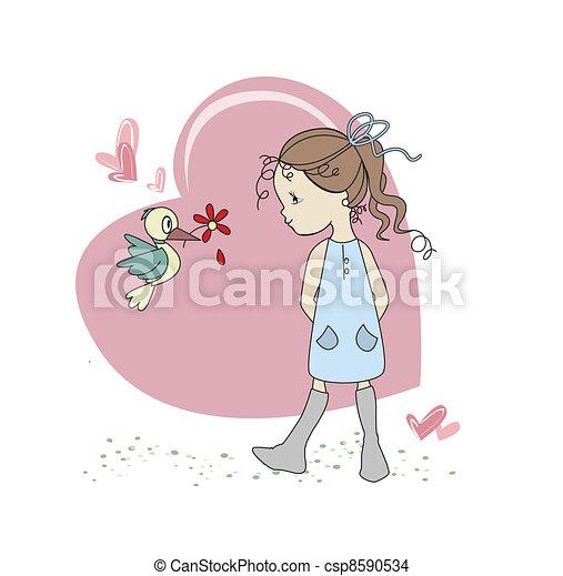 κορίτσι  - csp8590534