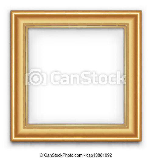 κορνίζα , μικροβιοφορέας , ή , φωτογραφία  - csp13881092