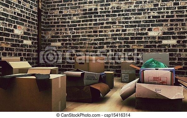 κουτιά , χαρτόνι  - csp15416314