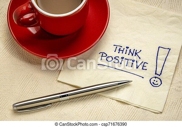 κρίνω , υπενθύμιση , θετικός , χαρτοπετσέτα  - csp71676390