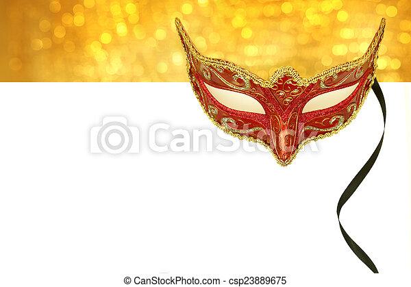 κρασί , αντίγραφο , μάσκα , καρναβάλι , διάστημα  - csp23889675
