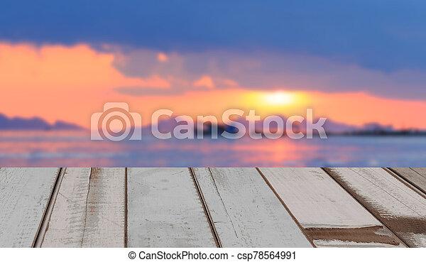κρασί , φόντο , ξύλινος , όμορφος , θαλασσογραφία , ηλιοβασίλεμα , μέρος πολιτικού προγράμματος  - csp78564991