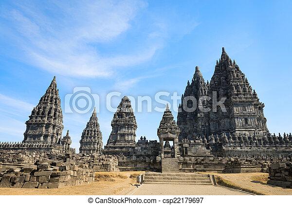 κρόταφος , ιάβα , ινδονησία , prambanan  - csp22179697