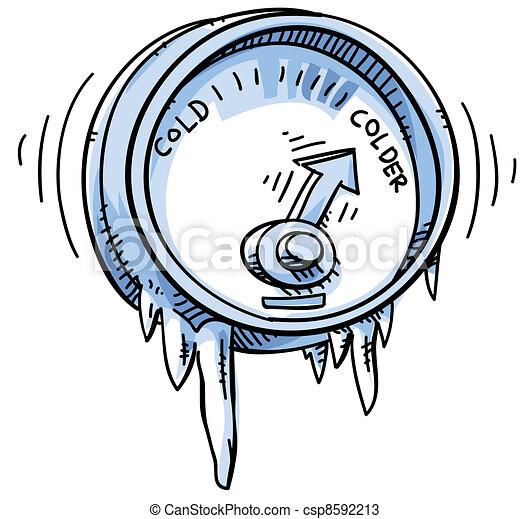 κρύο , θερμοκρασία  - csp8592213