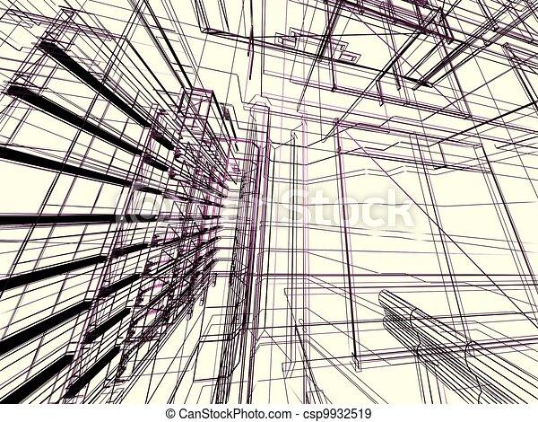 κτίριο , αφαιρώ , μοντέρνος  - csp9932519