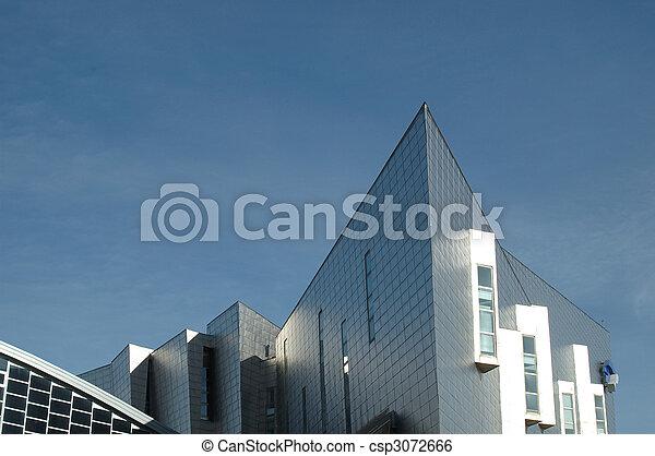 κτίριο , μοντέρνος , λεπτομέρεια , αρχιτεκτονική  - csp3072666