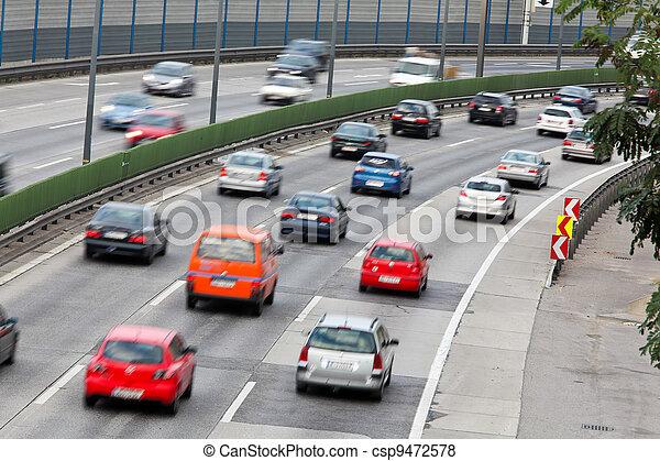 κυκλοφορία , άμαξα αυτοκίνητο , πελτέs , stras, εθνική οδόs  - csp9472578