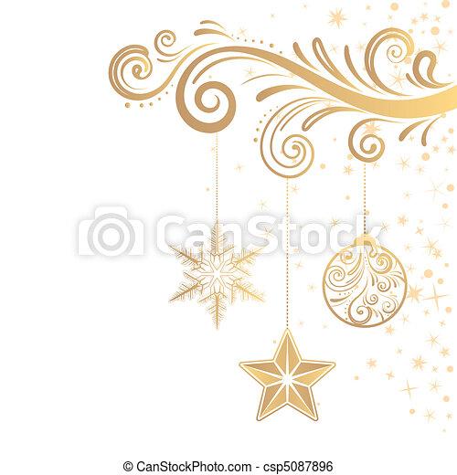 κόσμημα , xριστούγεννα  - csp5087896