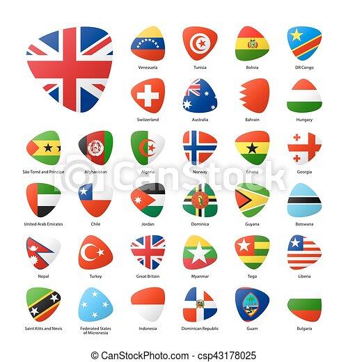 κόσμοs , θέτω , σημαίες  - csp43178025