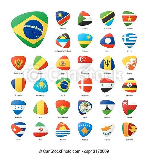 κόσμοs , σημαίες  - csp43178009