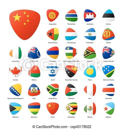 κόσμοs , σημαίες  - csp43178022