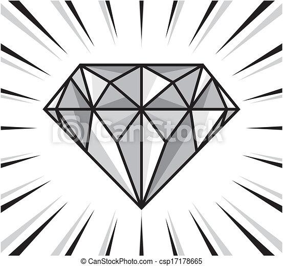 λάμπω , διαμάντι  - csp17178665