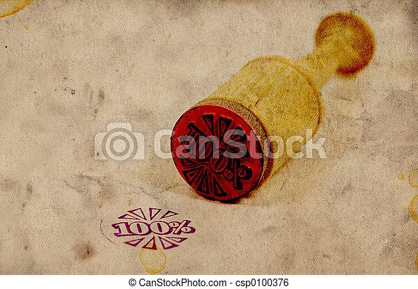 λάστιχο , κρασί , γραμματόσημο  - csp0100376